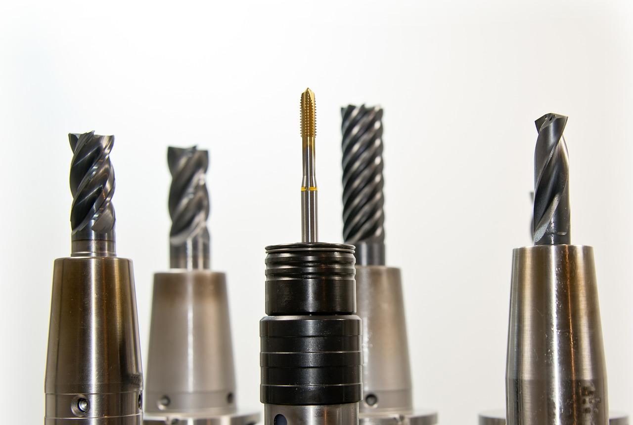 taps, thread, drill